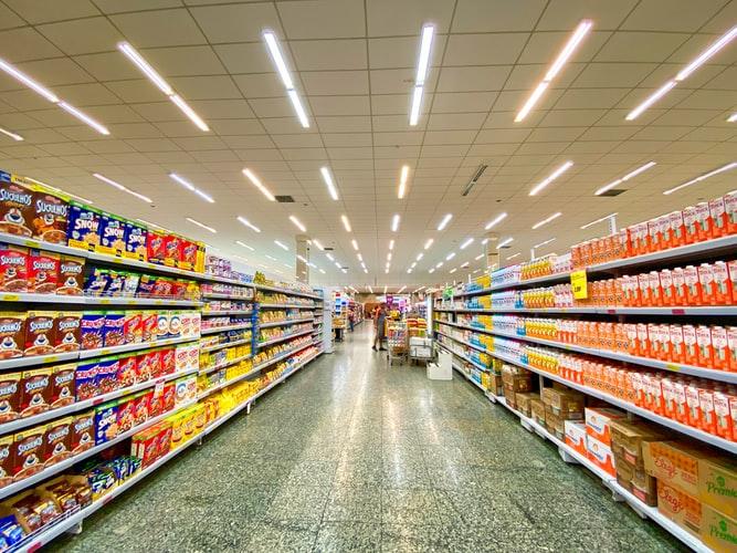 merchandising des supermarchés