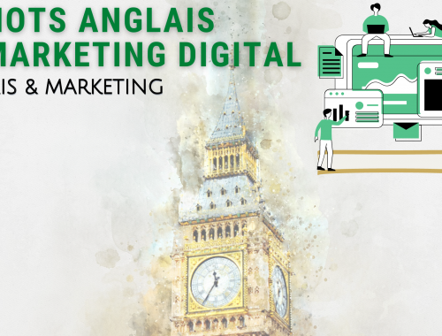 mots anglais du marketing digital