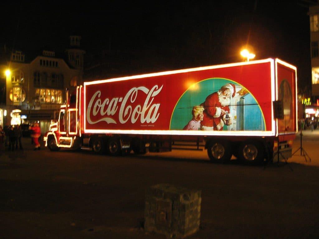 Coca cola père noel sundblom